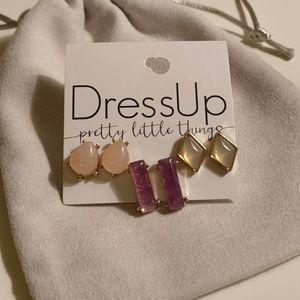 NEW 3 earrings set